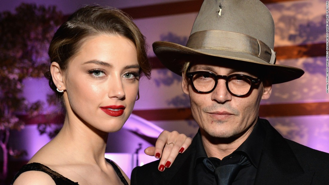 Actress Amber Heard has filed for divorce from actor Johnny Depp, according to documents obtained by CNN. Heard, 30, and Depp, 52, have been married since February 2015.