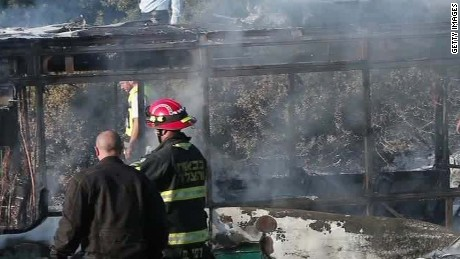 israeli police confirm device in bus fire liebermann_00001307.jpg