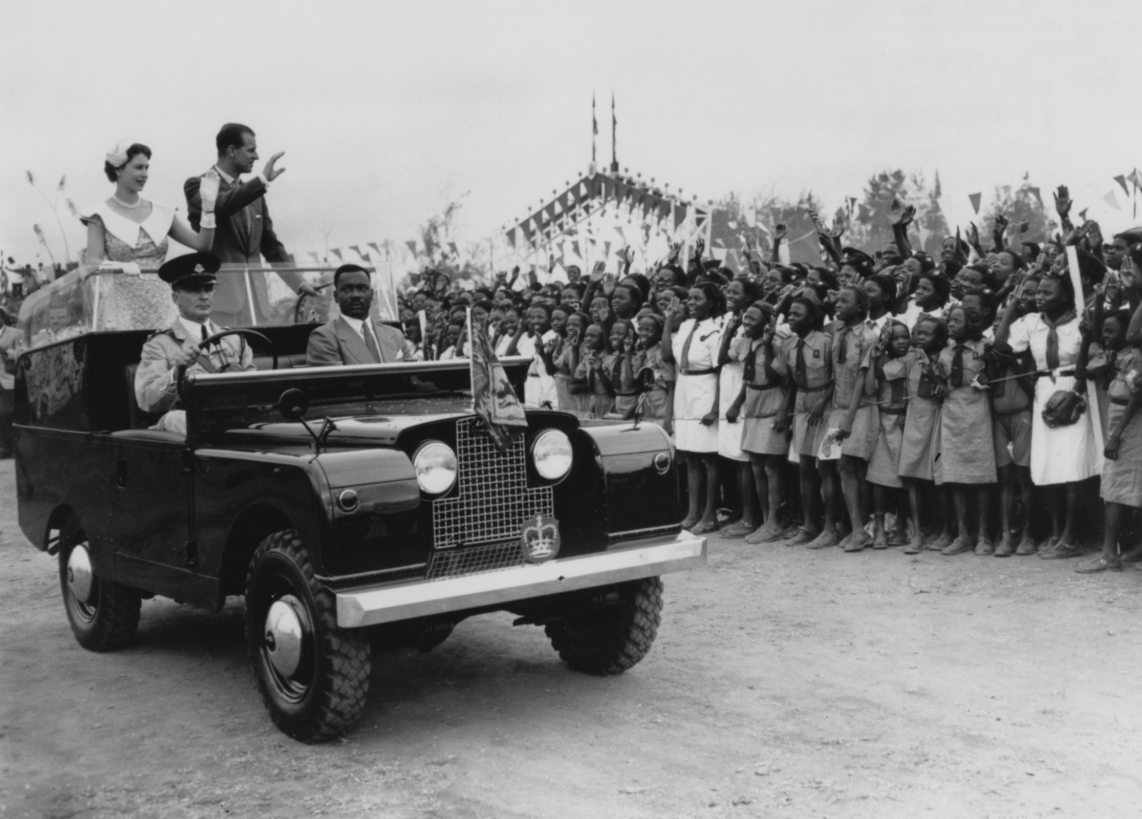 Land Rover A Car Fit For The Queen