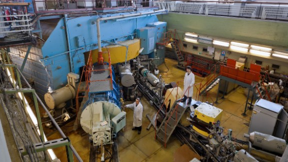 The accelerator used by Shaugnessy's group is based at the Joint Institute of Nuclear Research (JINR) in Dubna, Russia. The U.S. and Russian teams have collaborated for 26 years, and created five new elements together.