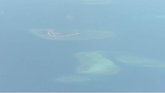 usa protests china landing military aircraft on disputed island cnn today_00002518.jpg
