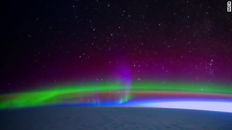 Capturing The Northern Lights From Space