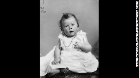 Childhood portrait of Princess Elizabeth, future Queen Elizabeth II, December 1926.