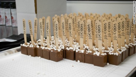"One of CODA Signature's products is cannabis-infused ""hot chocolate on a stick""."
