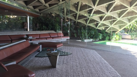 """The concrete, wood and steel-built living room of the Sheats Goldstein residence has been featured in several films, including """"The Big Lebowski"""" and """"Charlie"""