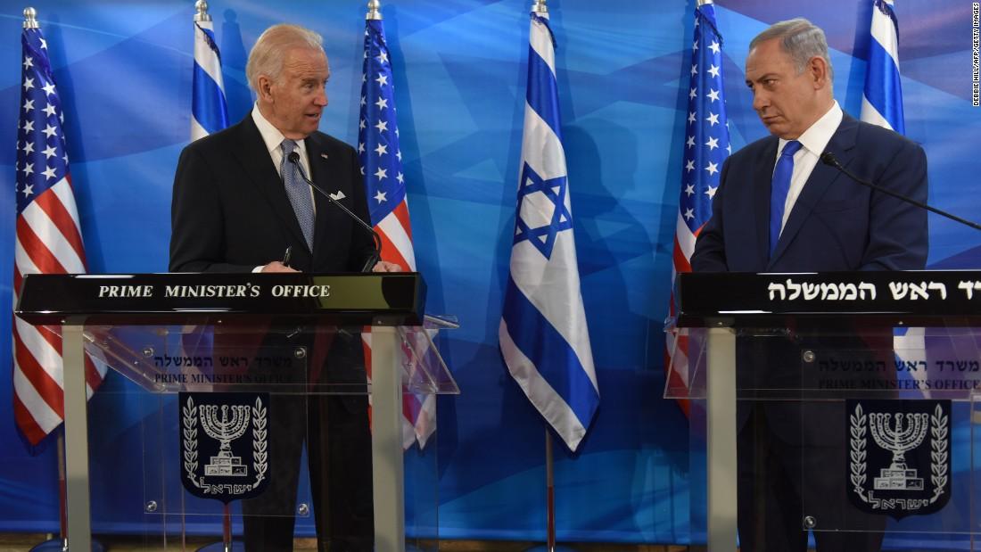 Who's afraid of Joe Biden? Not Benjamin Netanyahu