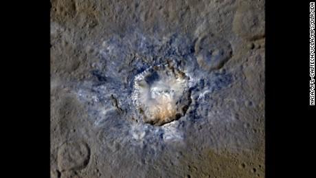 Το διαστημικό σκάφος βρίσκει φωτεινούς κρατήρες στο Ceres