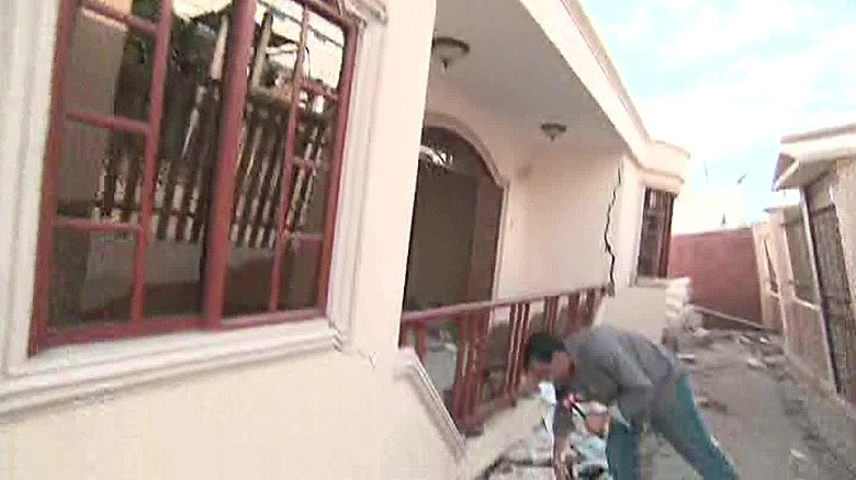 Ecuador earthquake: An up close look at the destruction