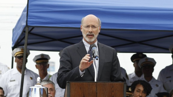 Pennsylvania Gov. Tom Wolf says the law will help people with records get better jobs and housing.