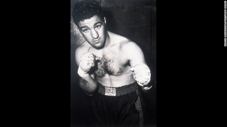 "Rocky Marciano was born in Brockton, Massachusetts, and was known as the ""Brockton Blockbuster."""