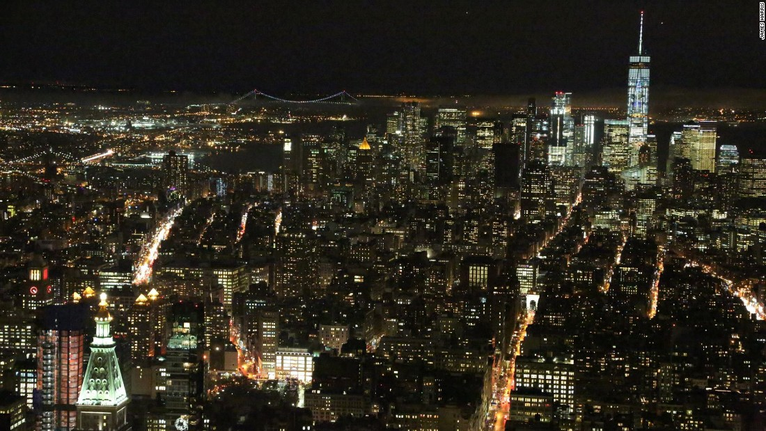 As chilly February gusts whipped through the platform on race night, Manhattan twinkled silently below.