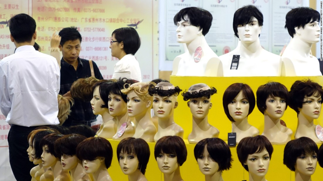 Benin is the leading importer of wigs in Africa, spending $411 million in 2014 on Chinese-made fake hair. <br /><br />The tiny state was also by far the continent's largest buyer of cotton from China, worth $852 million.