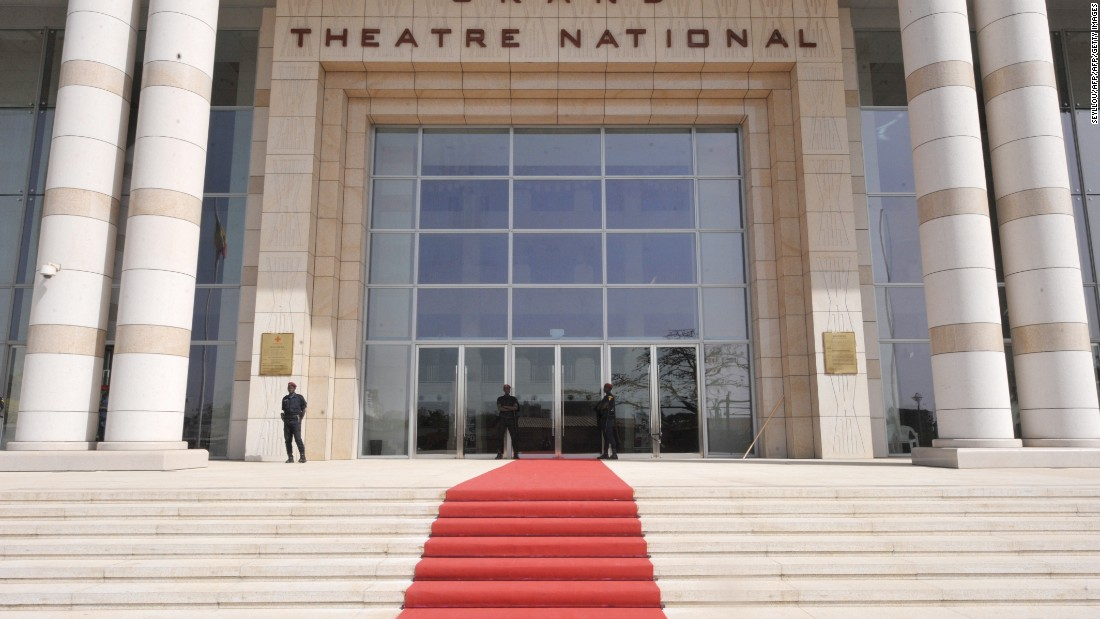 China has also invested heavily in cultural projects across Africa. <br /><br />Theaters have been a priority area, including Senegal's new 1800-seat Grand National in Dakar (pictured), largely funded through Chinese aid.