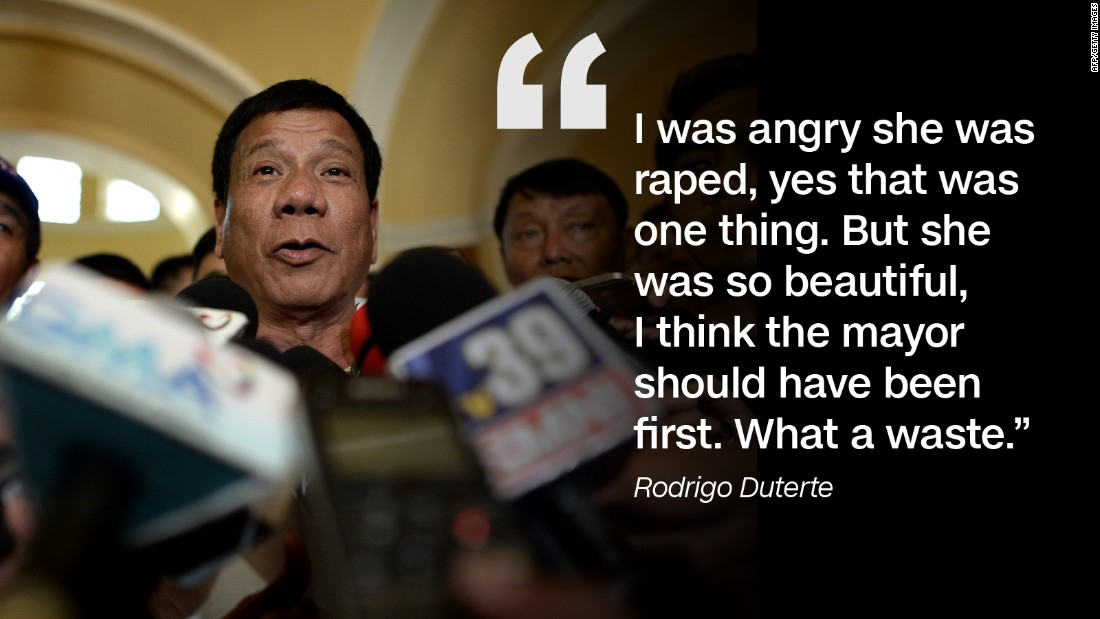 Rodrigo Duterte Fast Facts - CNN
