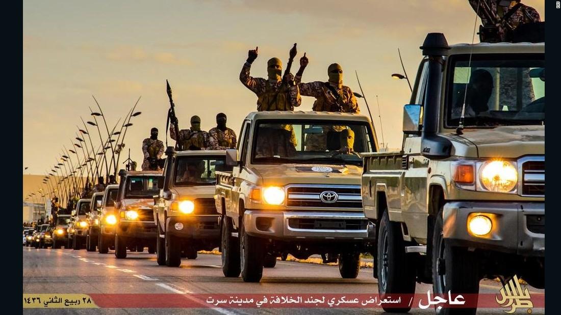 Us Military Upping Anti Isis Activity In Libya Cnnpolitics