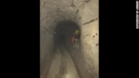 Federal officials say the tunnel stretches from Tijuana, Baja California, Mexico to Otay Mesa, about 500 yards north of the U.S.-Mexico border.