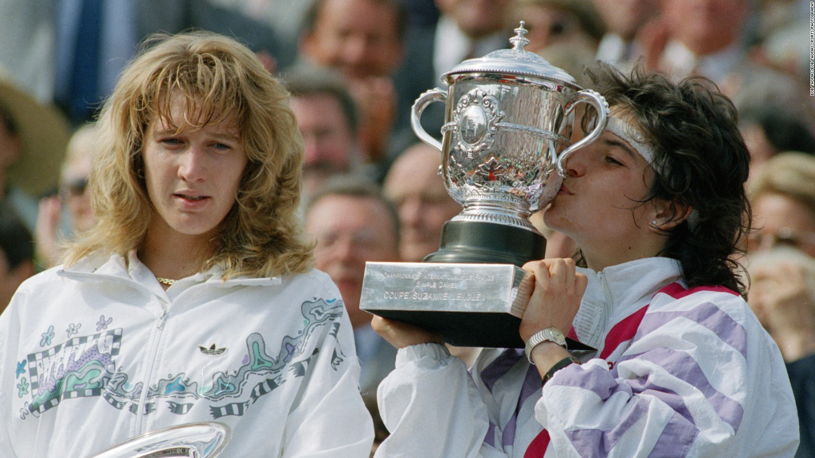 Arantxa Sanchez 4 Grand Slam singles titles