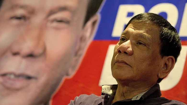Rodrigo Duterte, the leading Philippine presidential candidate, comes under  fire for rape 'joke'.