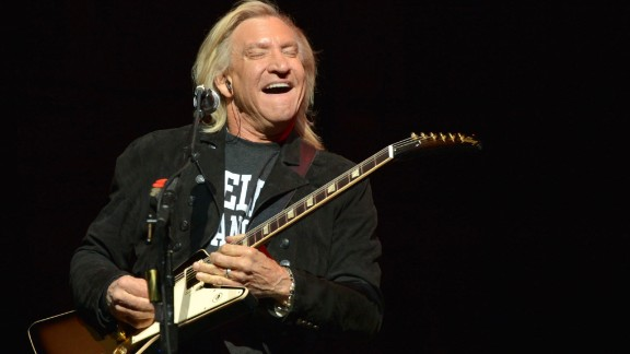 """In April, Joe Walsh of The Eagles nixed participating in a planned July concert in Cleveland, Ohio after he said he learned it was in fact """"a launch for the Republican National Convention."""" It's not the first time the party, or one of its candidates, has run afoul of rockers."""