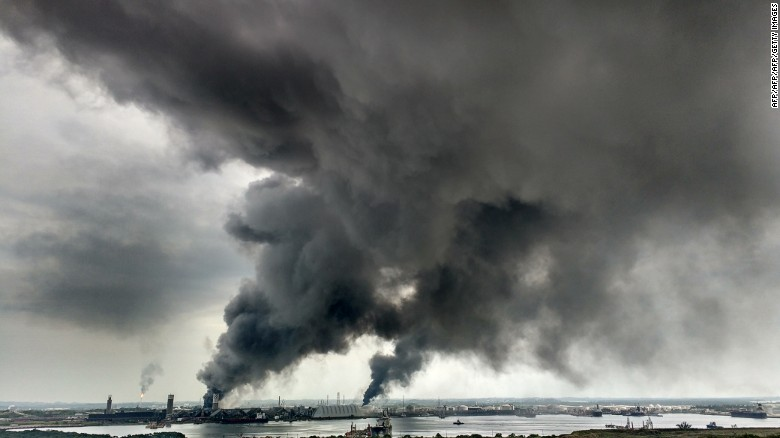 Deadly explosion at Mexican chemical plant
