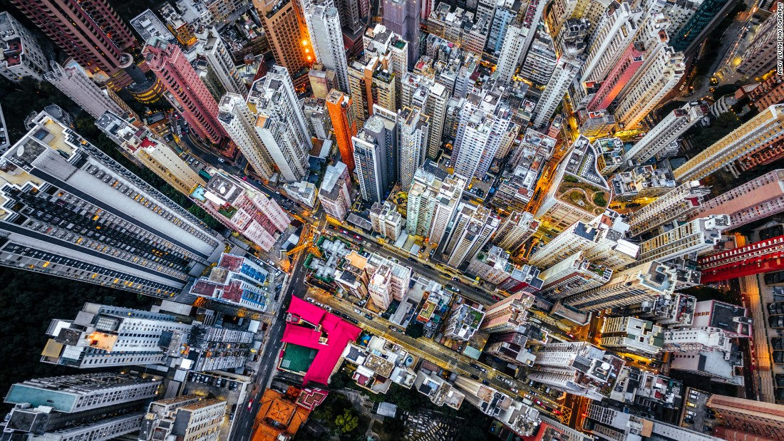 Stunning Aerial Photos Of Hong Kong Taken From A Drone