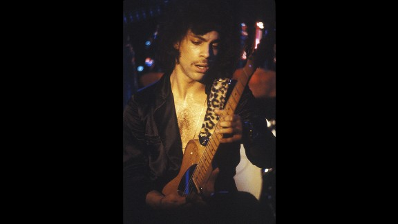 Prince performs in New York in 1980. Prince won seven Grammy Awards, and earned 30 nominations. Five of his singles topped the charts and 14 other songs hit the Top 10.