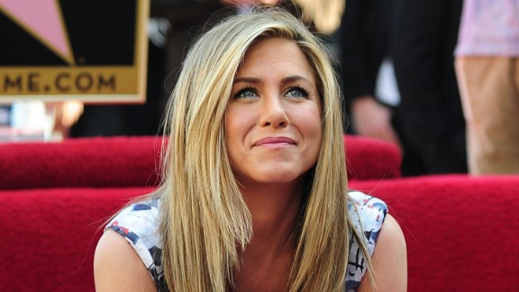 Jennifer Aniston says she her house was haunted when she first moved to Los Angeles.