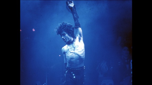 Prince performs live at the 1985 Fabulous Forum in Inglewood, California. He created what became known as the Minneapolis sound, which was a funky blend of pop, synth and new wave.