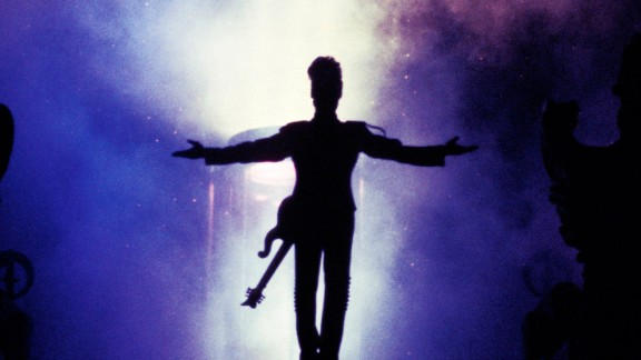 UNSPECIFIED - JANUARY 01:  Photo of PRINCE; Prince performing on stage, silhouette  (Photo by Rico D'Rozario/Redferns)