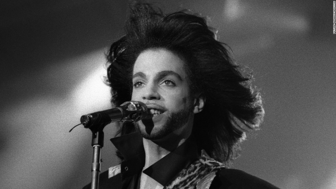 Prince performs in 1990.