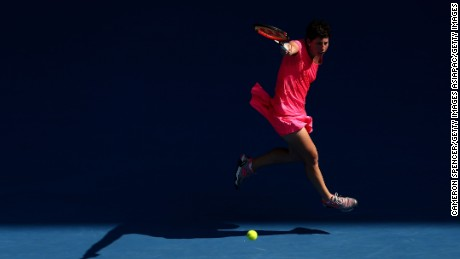 Carla Suarez Navarro's secret weapon