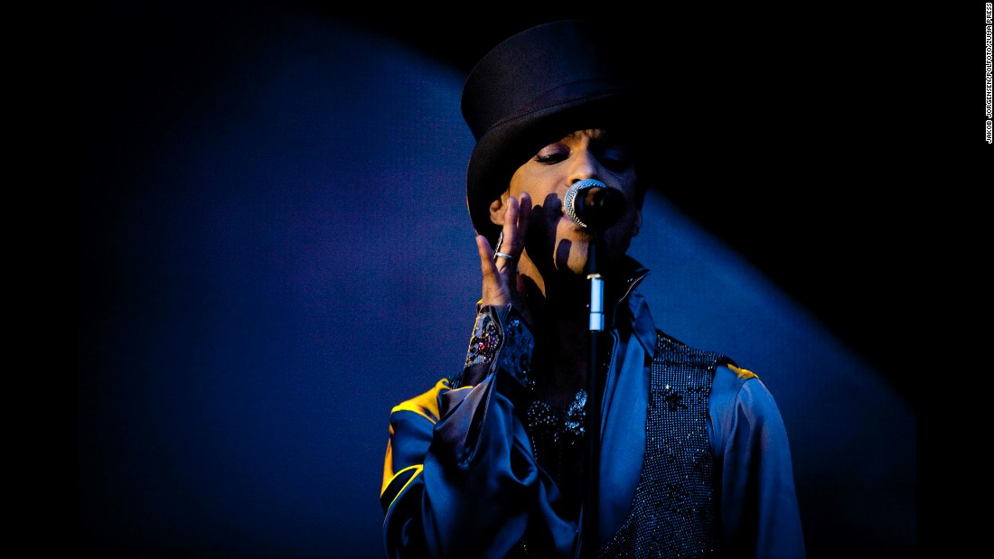 Prince performing at the Femoren on August 6, 2011, in Copenhagen, Denmark.