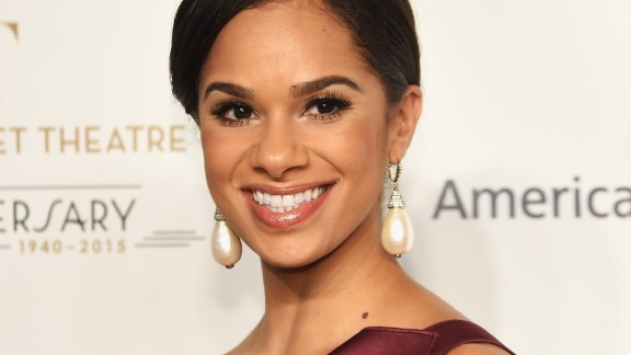 Misty Copeland attends the American Ballet 75th Anniversary Fall Gala on October 21, 2015 in New York City.