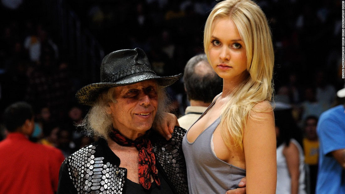 Goldstein -- seen with Danish model Amalie Wichmann before a 2011 Los Angeles Lakers playoff game -- is also an enthusiast of high fashion, and is the inspiration behind the clothing line James Goldstein Couture.