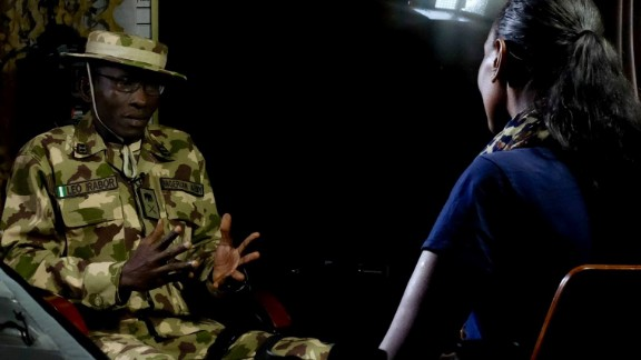 """The operation's """"theater commander"""" Maj. Gen. Leo Irabor tells CNN that while he is proud of his men's achievements in pushing back Boko Haram, they are in need of more international support to quash the insurgents."""