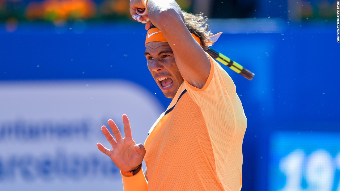 Nadal could equal Guillermo Vilas record of 49 career clay-court titles if he is successful in Sunday's final.