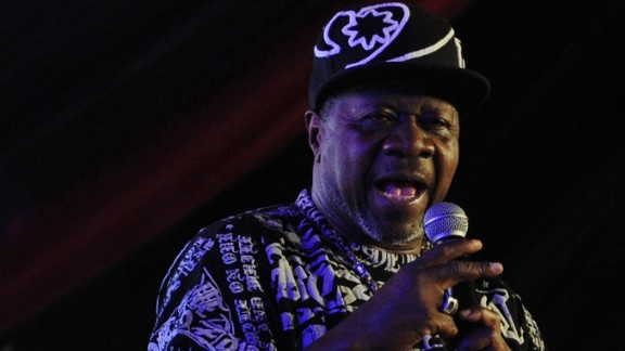 Papa Wemba, one of Africa
