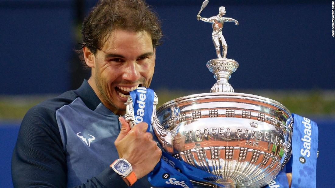 Rafael Nadal Matches Legend Guillermo Vilas Cnn