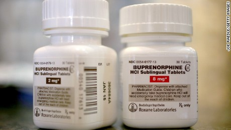 BOCA RATON, FL - FEBRUARY 04:  In this photo illustration, bottles of the generic prescription pain medication Buprenorphine are seen in a pharmacy on February 4, 2014 in Boca Raton, Florida. The narcotic drug is used as an alternative to Methadone to help addicts recovering from heroin use.  (Photo illustration by Joe Raedle/Getty Images)