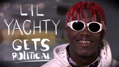 rapper lil yachty has lil b to thank for getting into bernie sanders