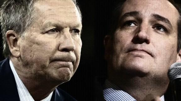 Ted Cruz John Kasich team up against Trump
