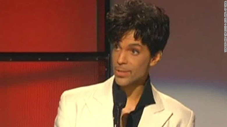 Prince at the Rock and Roll Hall of Fame (2016)