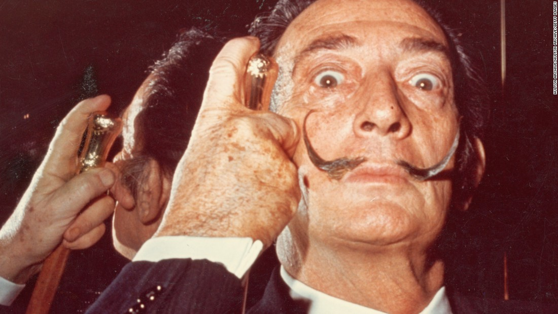 salvador dali body exhumed for paternity test cnn style