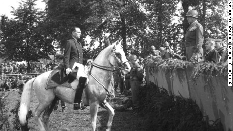 Saving horses from Hitler: The equine Great Escape