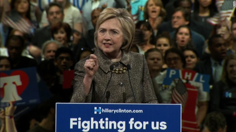 Clinton: Our campaign is about restoring confidence