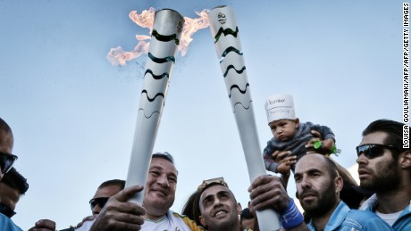 2599a428748f Olympic torch heads to Rio for 2016 Games - CNN