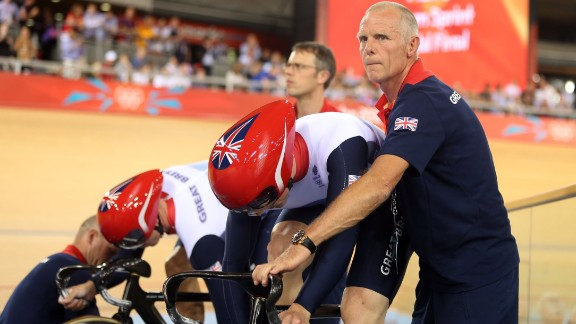 Shane Sutton worked with Chris Hoy and Bradley Wiggins during time with British Cycling.