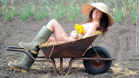 World Naked Gardening Day is observed annually on the first Saturday of the month May.