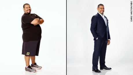 The 2016 Biggest Loser winner Roberto Hernandez.