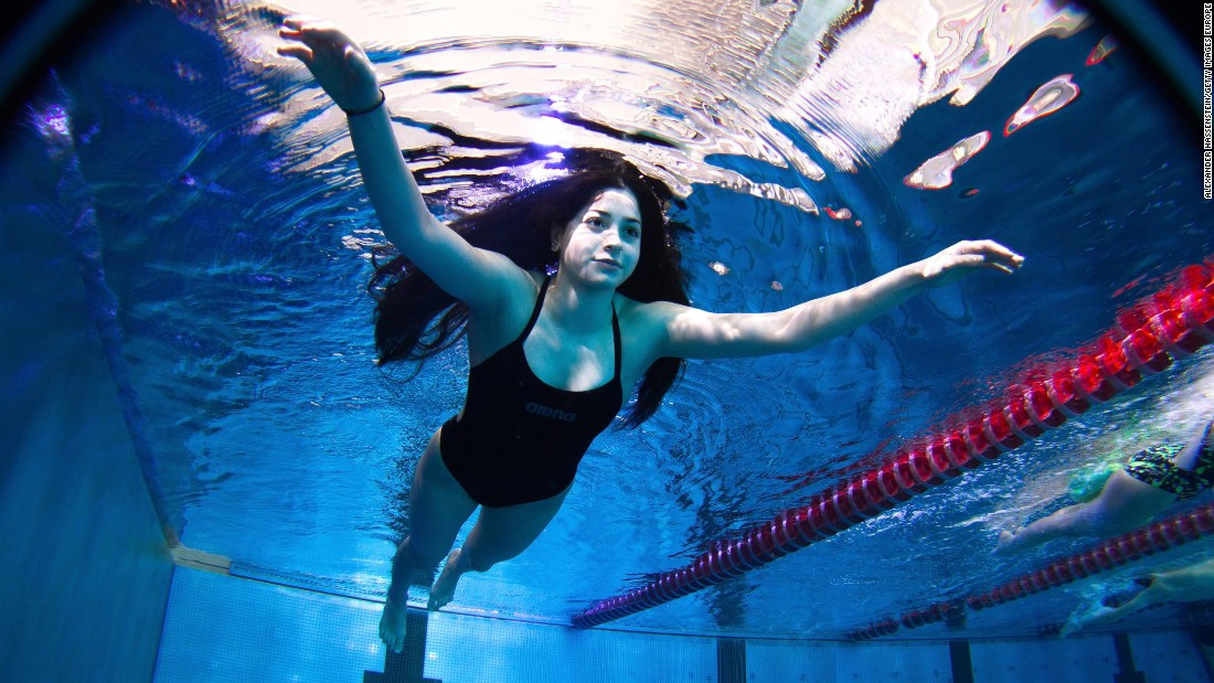 "Yusra Mardini, an 18-year old Syrian, may join her. This summer, Yusra Mardini was swimming through the Aegan sea in a bid for asylum. Now, she's aiming to swim in the Olympics. <br /><a href=""http://edition.cnn.com/2016/03/03/sport/olympic-refugee-team-rio/""><br />READ: Team of Refugees set to compete at Rio </a>"